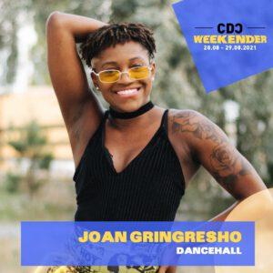 Joan Gringresho – Sat, 28.8., 13:00